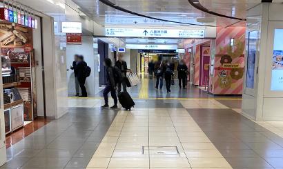 東京駅からの道のり3