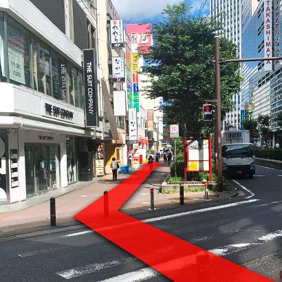 横浜駅からの道のり5