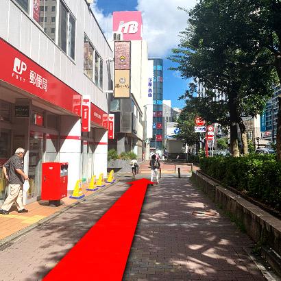 横浜駅からの道のり7